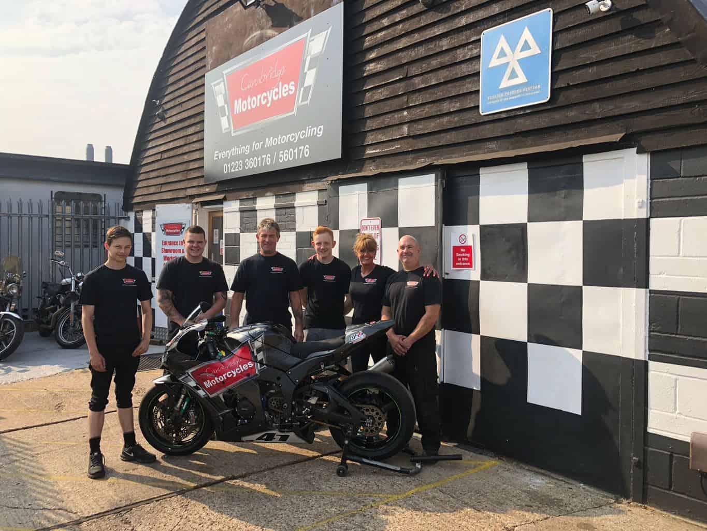 Cambridge Motorcycles Team!